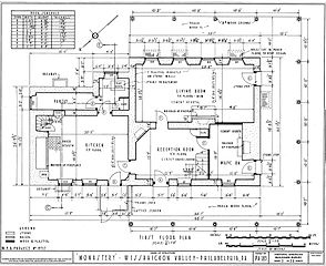 Floorplan for The Monastery (Philadelphia, Pennsylvania)